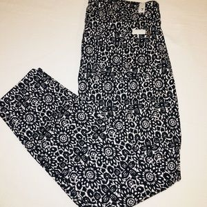 7 for All Mankind Printed cropped skinny 29